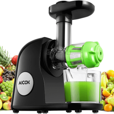 Aicok Slow Masticating Juicer 2018
