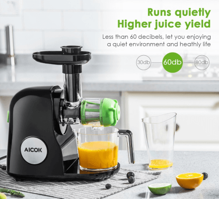 Best Slow Masticating Juicer Aicok