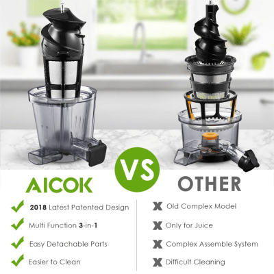 Best To Clean Aicok Masticating Juicer