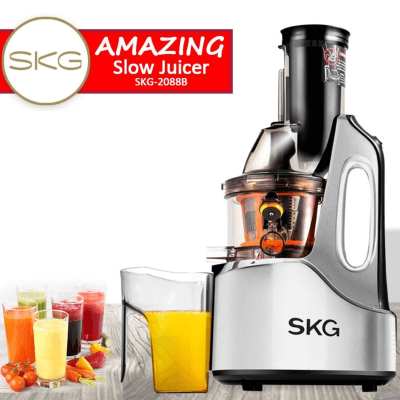 SKG 4 inch Chute Masticating Juicer 2018